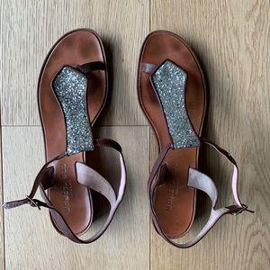 Moneta Blu sandals